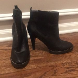 Banana republic leather booties